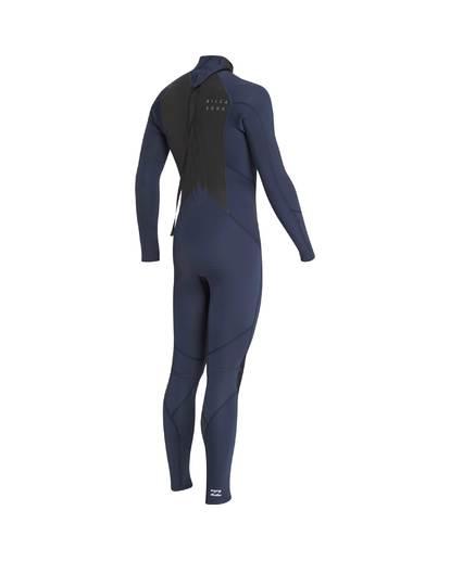 11 3/2 Furnace Absolute Back Zip Gbs Wetsuit Grey L43M10BIF8 Billabong