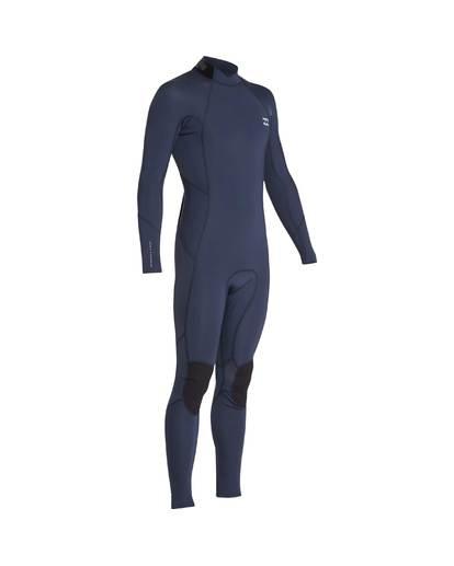 12 3/2 Furnace Absolute Back Zip Gbs Wetsuit Grey L43M10BIF8 Billabong