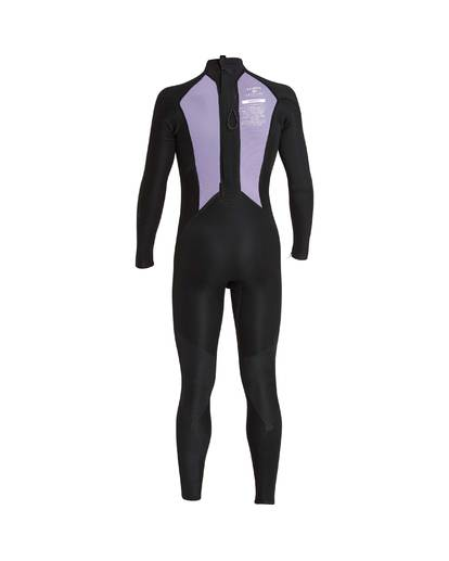 15 3/2 Furnace Absolute Back Zip Gbs Wetsuit Grey L43M10BIF8 Billabong