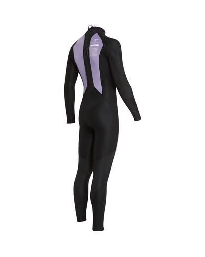 16 3/2 Furnace Absolute Back Zip Gbs Wetsuit Grey L43M10BIF8 Billabong