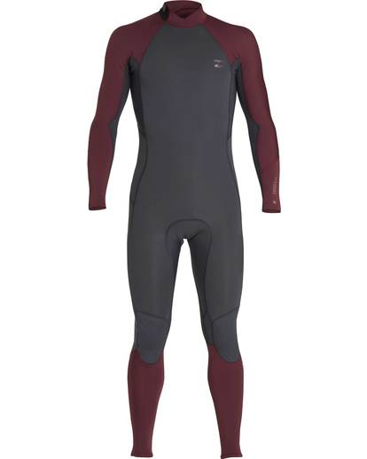 0 3/2 Furnace Absolute Back Zip Gbs Wetsuit Violet L43M10BIF8 Billabong