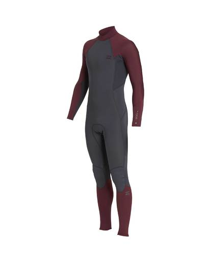 1 3/2 Furnace Absolute Back Zip Gbs Wetsuit Violet L43M10BIF8 Billabong