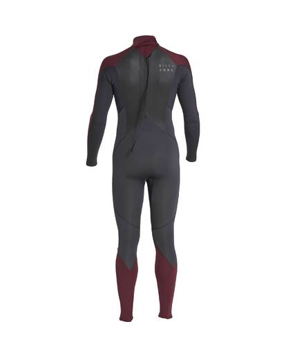 2 3/2 Furnace Absolute Back Zip Gbs Wetsuit Violet L43M10BIF8 Billabong