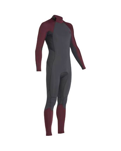 4 3/2 Furnace Absolute Back Zip Gbs Wetsuit Violet L43M10BIF8 Billabong