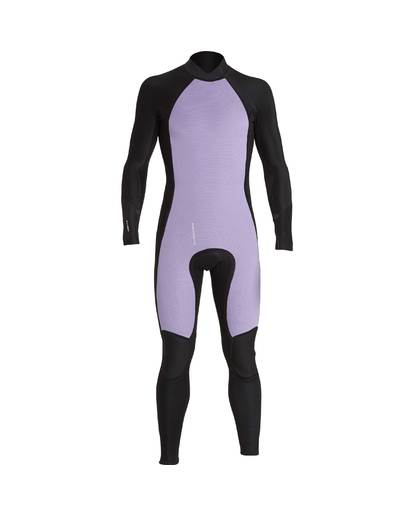 5 3/2 Furnace Absolute Back Zip Gbs Wetsuit Violet L43M10BIF8 Billabong