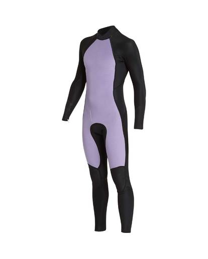 6 3/2 Furnace Absolute Back Zip Gbs Wetsuit Violet L43M10BIF8 Billabong