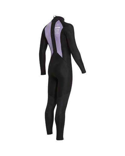8 3/2 Furnace Absolute Back Zip Gbs Wetsuit Violet L43M10BIF8 Billabong