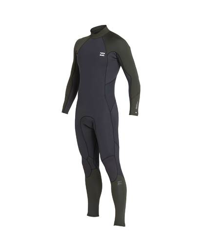 1 3/2 Furnace Absolute Back Zip Gbs Wetsuit Grün L43M10BIF8 Billabong