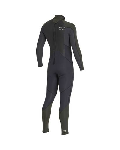 3 3/2 Furnace Absolute Back Zip Gbs Wetsuit Grün L43M10BIF8 Billabong