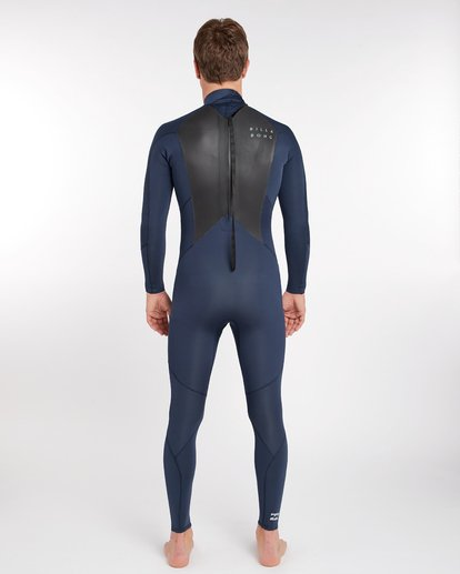 3 3/2 Furnace Absolute Back Zip Gbs Wetsuit Grey L43M10BIF8 Billabong