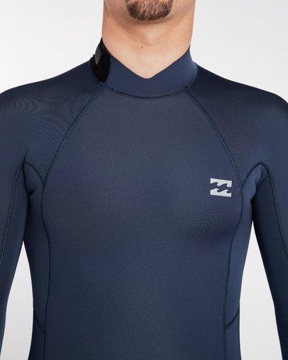 4 3/2 Furnace Absolute Back Zip Gbs Wetsuit Grey L43M10BIF8 Billabong