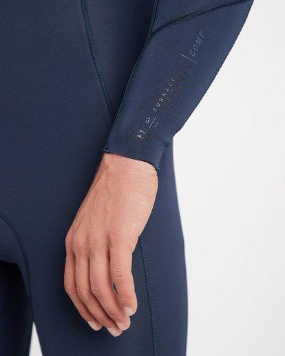 5 3/2 Furnace Absolute Back Zip Gbs Wetsuit Grey L43M10BIF8 Billabong