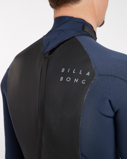 7 3/2 Furnace Absolute Back Zip Gbs Wetsuit Grey L43M10BIF8 Billabong
