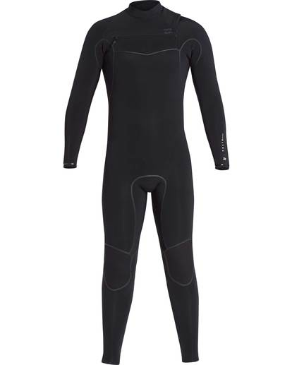 0 3/2 Furnace Carbon Ultra Chest Zip Wetsuit Noir L43M25BIF8 Billabong