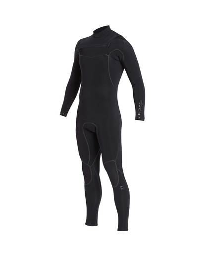 2 3/2 Furnace Carbon Ultra Chest Zip Wetsuit Noir L43M25BIF8 Billabong