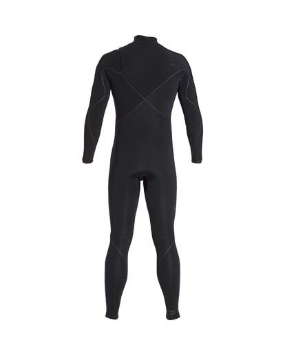 3 3/2 Furnace Carbon Ultra Chest Zip Wetsuit Noir L43M25BIF8 Billabong
