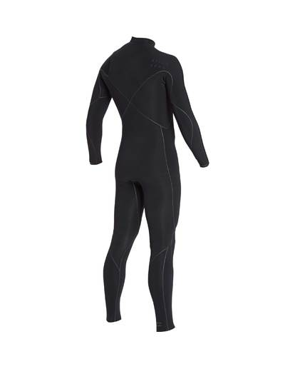 4 3/2 Furnace Carbon Ultra Chest Zip Wetsuit Noir L43M25BIF8 Billabong