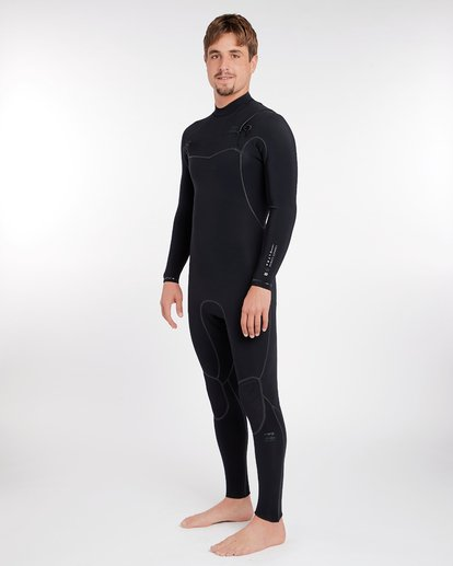1 3/2 Furnace Carbon Ultra Chest Zip Wetsuit Schwarz L43M25BIF8 Billabong