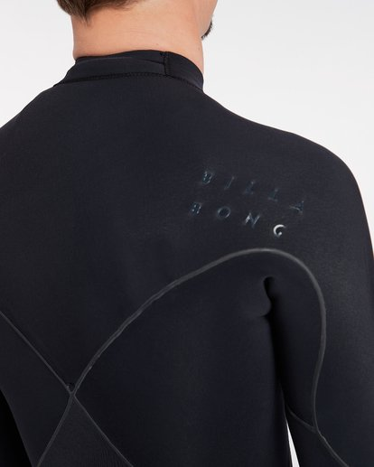 14 3/2 Furnace Carbon Ultra Chest Zip Wetsuit Noir L43M25BIF8 Billabong