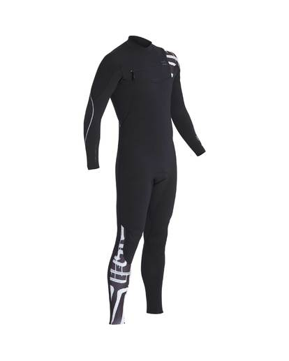 1 3/2 Furnace Carbon Chest Zip Gbs Wetsuit Schwarz L43M26BIF8 Billabong