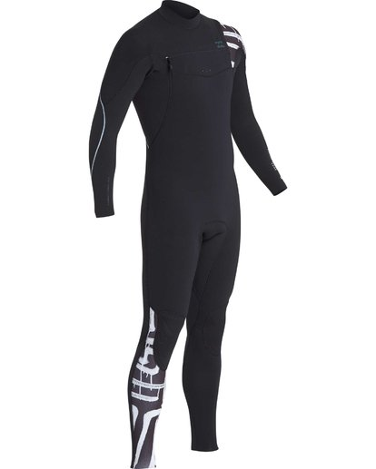 13 3/2 Furnace Carbon Chest Zip Gbs Wetsuit Schwarz L43M26BIF8 Billabong
