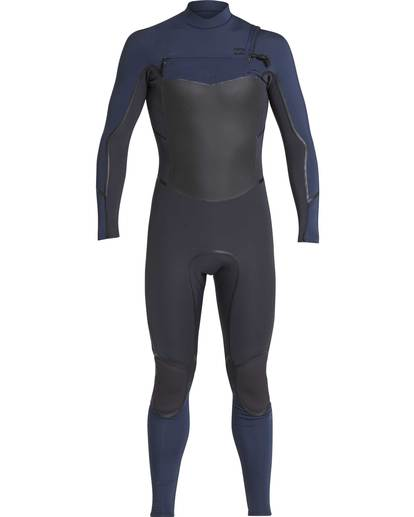 0 3/2 Furnace Absolute X Chest Zip Wetsuit Gray L43M27BIF8 Billabong