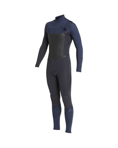 1 3/2 Furnace Absolute X Chest Zip Wetsuit Gray L43M27BIF8 Billabong