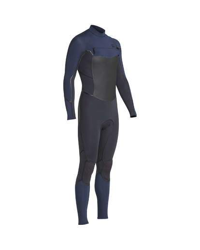 4 3/2 Furnace Absolute X Chest Zip Wetsuit Gray L43M27BIF8 Billabong