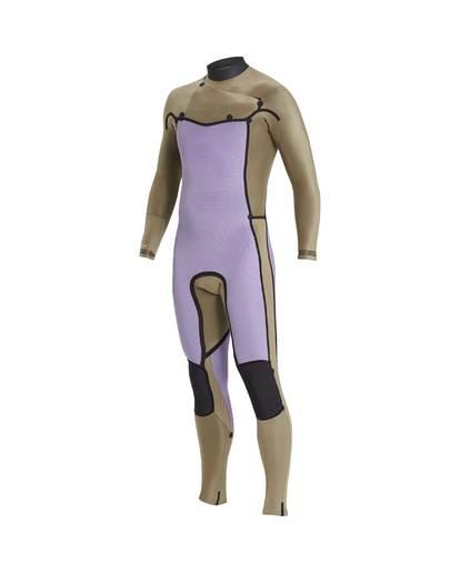 5 3/2 Revolution Glide Lab Chest Zip Wetsuit Noir L43M45BIF8 Billabong
