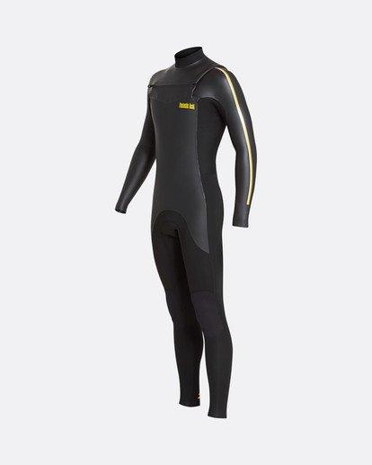 6 3/2 Revolution Glide Lab Chest Zip Wetsuit Noir L43M45BIF8 Billabong