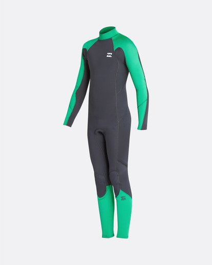 5 4/3 Boys Furnace Absolute Back Zip Gbs Wetsuit Rojo L44B06BIF8 Billabong