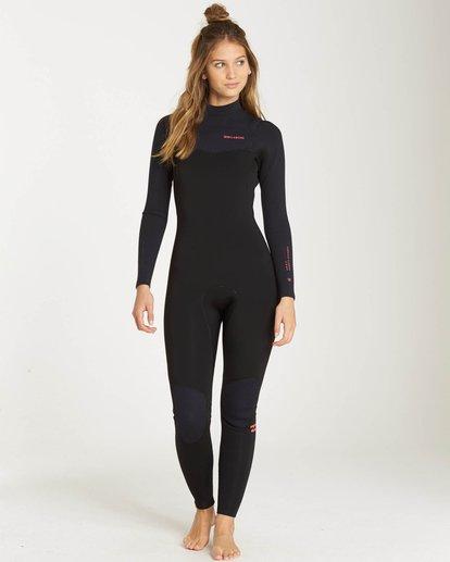 0 4/3 Furnace Carbon Chest Zip Gbs Fullsuit Wetsuit Noir L44G02BIF8 Billabong
