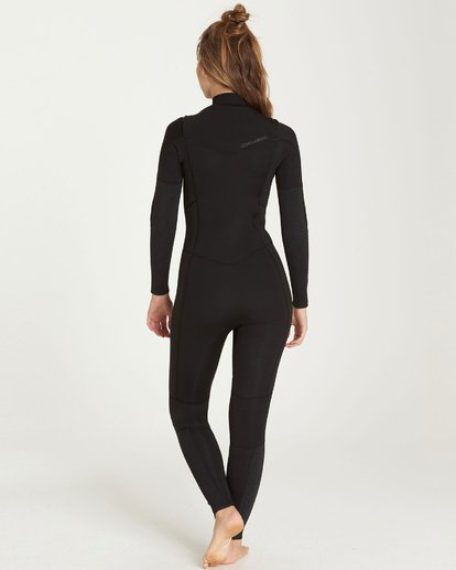 1 4/3 Furnace Synergy Chest Zip Gbs Fullsuit Wetsuit Noir L44G03BIF8 Billabong