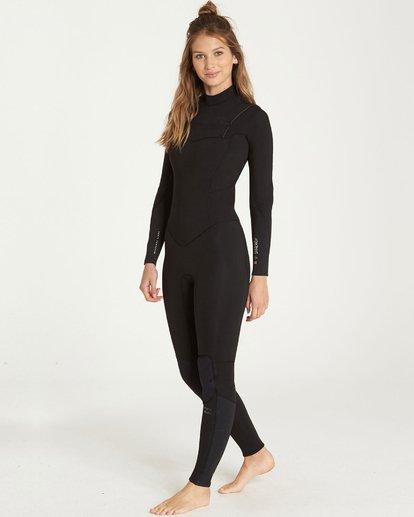 2 4/3 Furnace Synergy Chest Zip Gbs Fullsuit Wetsuit Noir L44G03BIF8 Billabong