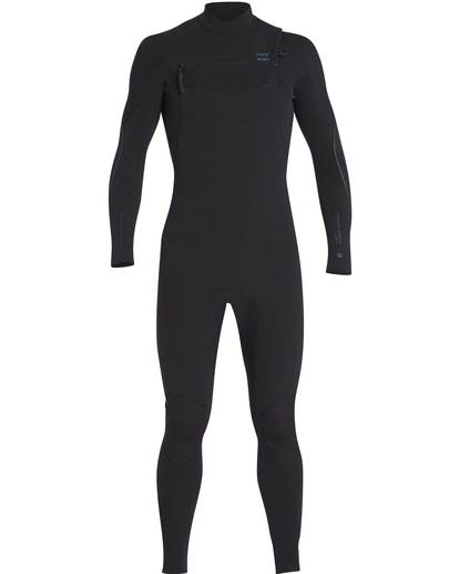 0 4/3 Furnace Carbon Chest Zip Gbs Wetsuit Noir L44M02BIF8 Billabong
