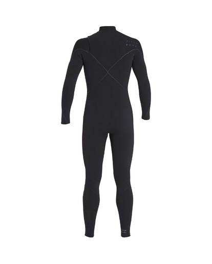 3 4/3 Furnace Carbon Chest Zip Gbs Wetsuit Noir L44M02BIF8 Billabong