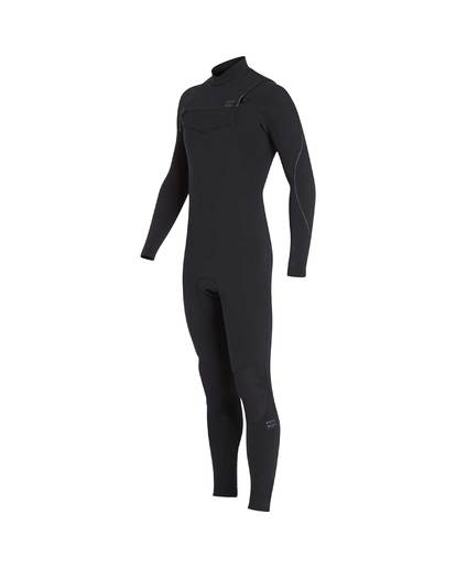 4 4/3 Furnace Carbon Chest Zip Gbs Wetsuit Noir L44M02BIF8 Billabong