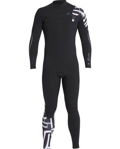 0 4/3 Furnace Carbon Chest Zip Gbs Wetsuit Schwarz L44M02BIF8 Billabong