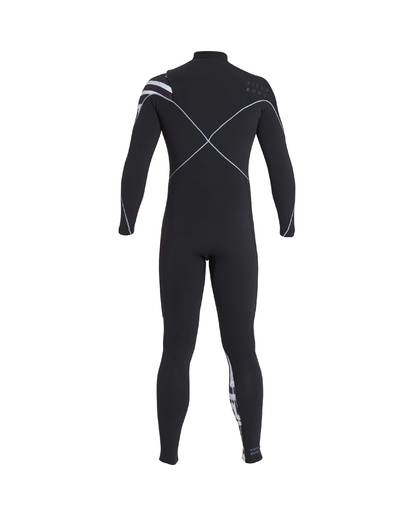 3 4/3 Furnace Carbon Chest Zip Gbs Wetsuit Schwarz L44M02BIF8 Billabong