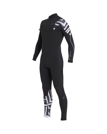 4 4/3 Furnace Carbon Chest Zip Gbs Wetsuit Schwarz L44M02BIF8 Billabong