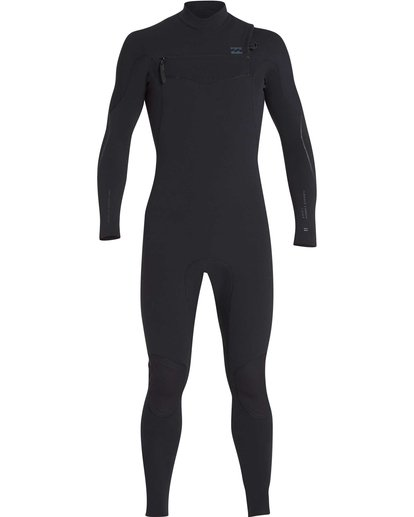 15 4/3 Furnace Carbon Chest Zip Gbs Wetsuit Noir L44M02BIF8 Billabong