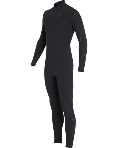 18 4/3 Furnace Carbon Chest Zip Gbs Wetsuit Noir L44M02BIF8 Billabong