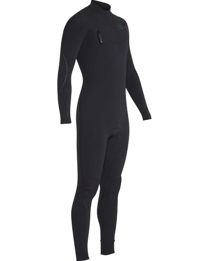 19 4/3 Furnace Carbon Chest Zip Gbs Wetsuit Noir L44M02BIF8 Billabong