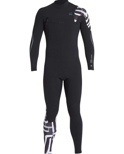 15 4/3 Furnace Carbon Chest Zip Gbs Wetsuit Schwarz L44M02BIF8 Billabong