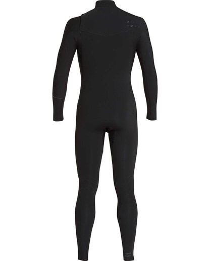 11 4/3 Furnace Revolution Chest Zip Wetsuit Noir L44M06BIF8 Billabong