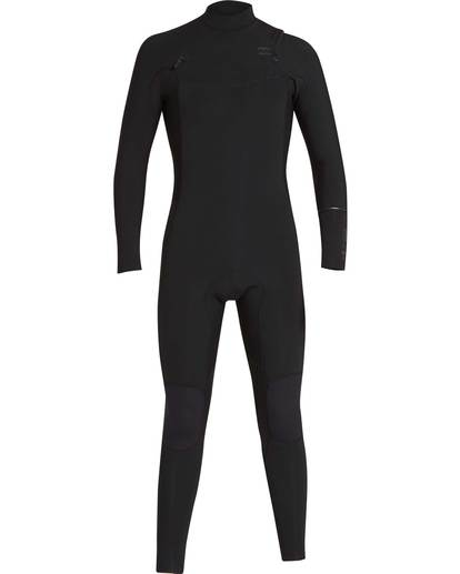 0 4/3 Furnace Revolution Chest Zip Wetsuit Noir L44M06BIF8 Billabong