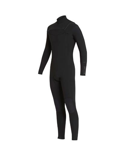 4 4/3 Furnace Revolution Chest Zip Wetsuit Noir L44M06BIF8 Billabong