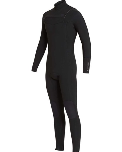 12 4/3 Furnace Revolution Chest Zip Wetsuit Noir L44M06BIF8 Billabong