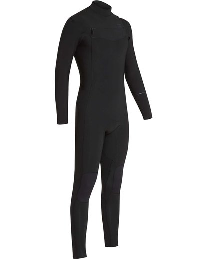 13 4/3 Furnace Revolution Chest Zip Wetsuit Noir L44M06BIF8 Billabong