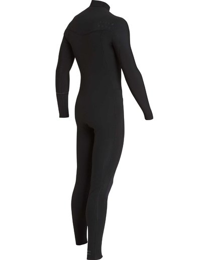 14 4/3 Furnace Revolution Chest Zip Wetsuit Noir L44M06BIF8 Billabong